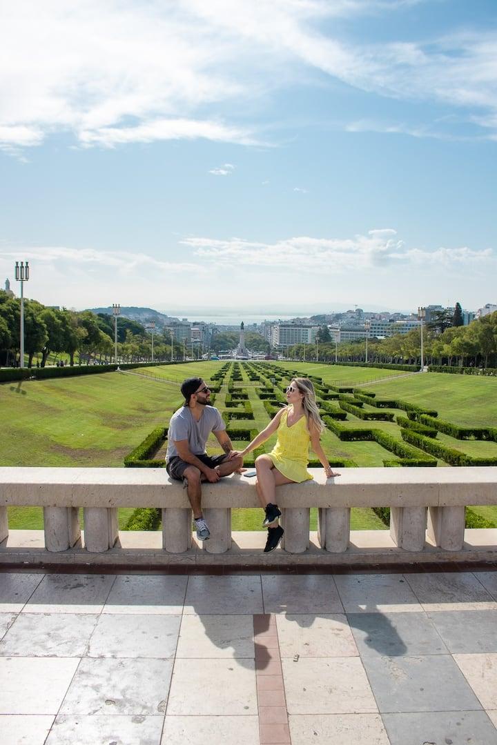 Parque Eduardo VII view