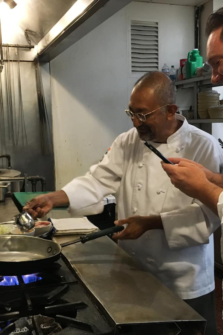 Cooking Demo by Chef Ranjan