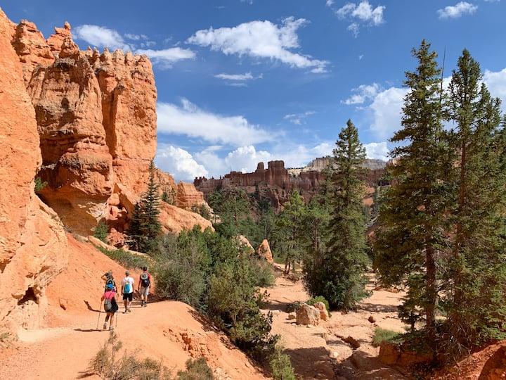 Hiking Bryce
