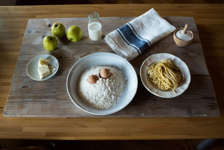 The ingredients for Pasta