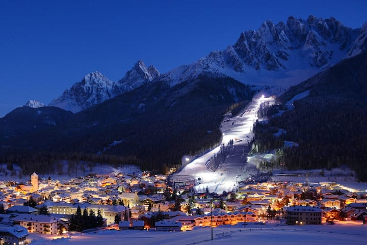 Bardonecchia night view