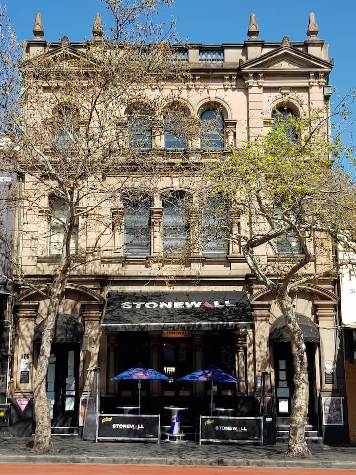 The outrageous Stonewall Hotel and Bar