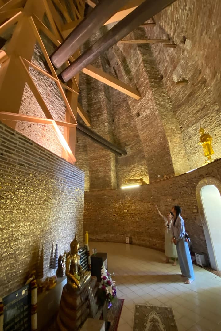 Hidden ancient structure