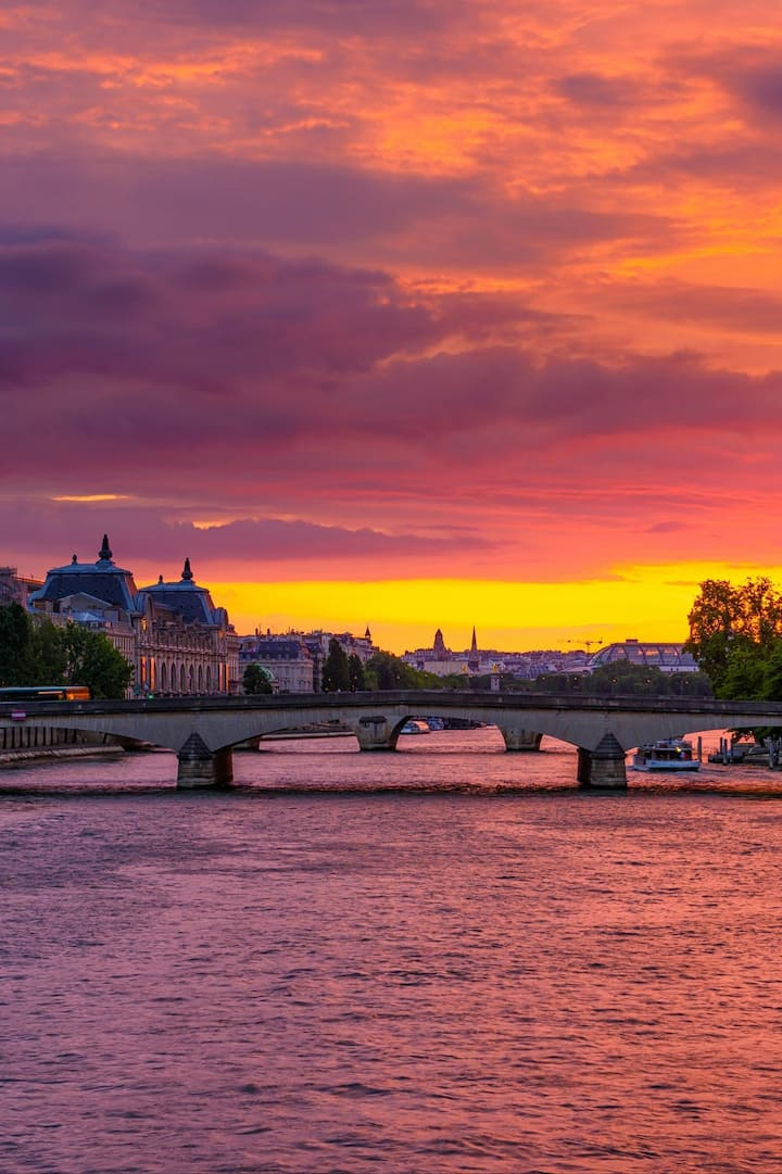 There's nothing like a Paris sunset