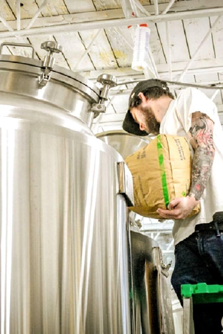 Sometimes we find them making beer!