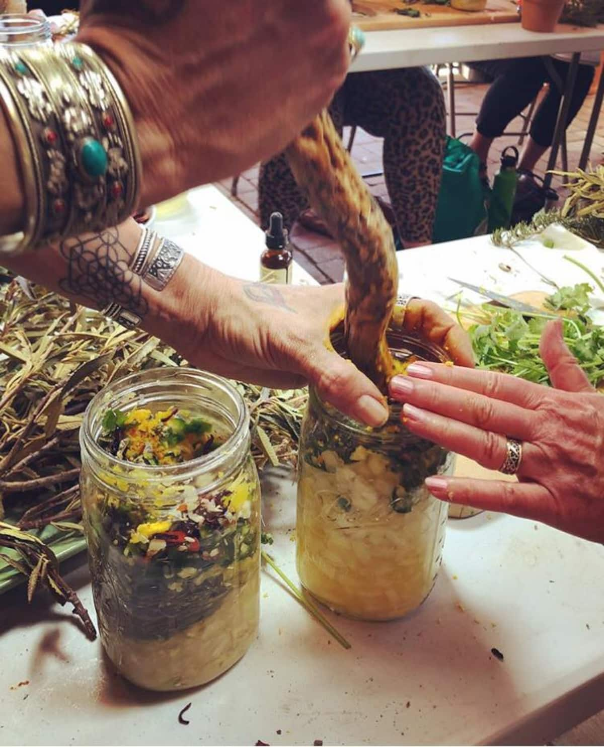 Making your own herbal medicine