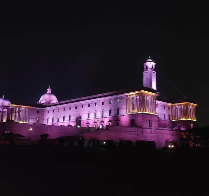 India gate & Central Vista