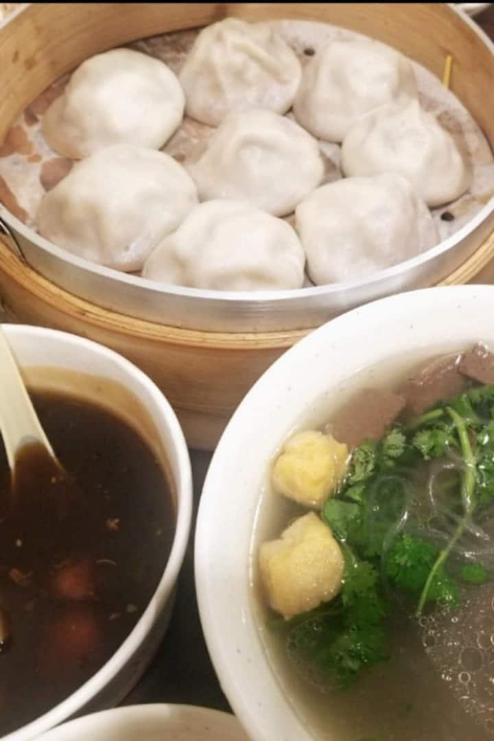 丰富的南京美食