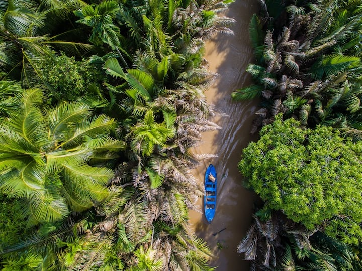 Mekong Delta from Above