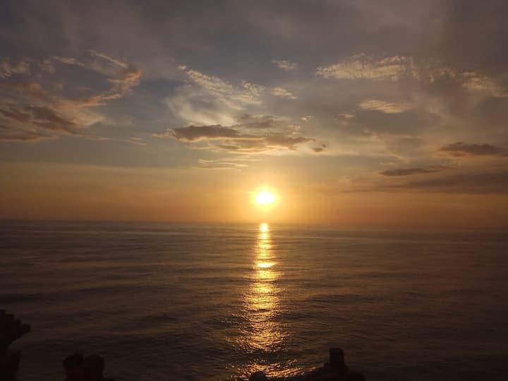 Sunset at the Uluwatu Temple