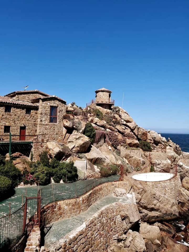 Casa de piedra .