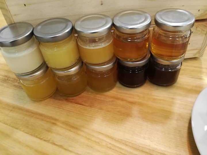 More than ten types of Bulgarian honey