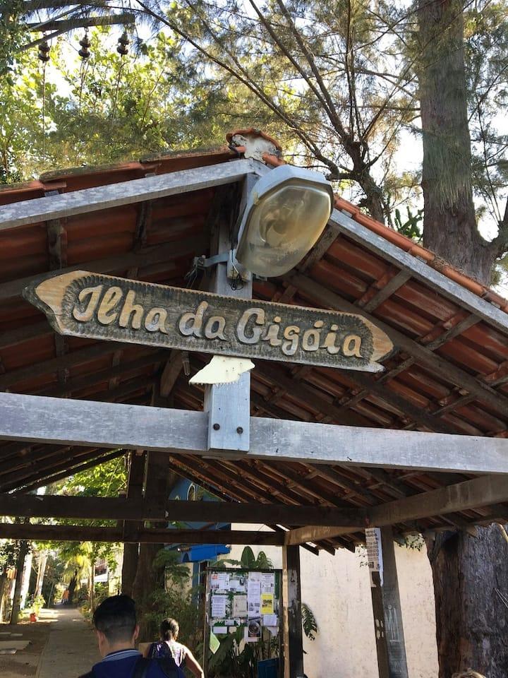 Entrada Principal da Ilha da Gigóia