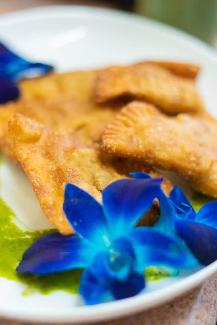 Curry Chick Pea Empanadas- YUM