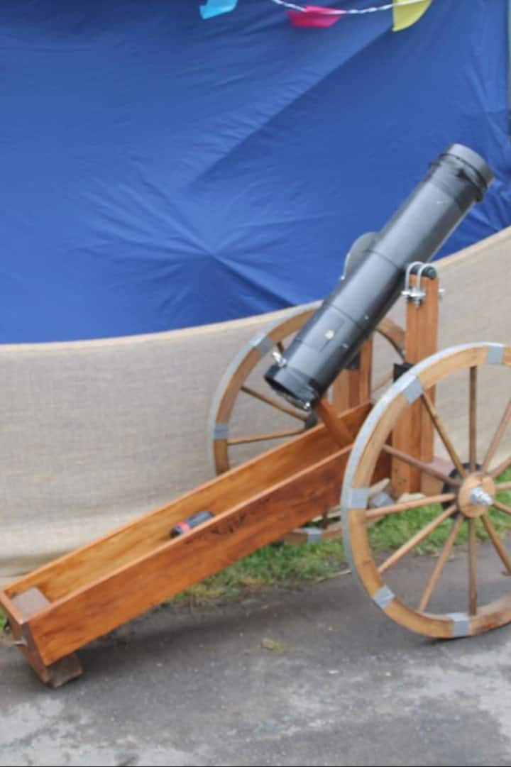 Usable cannon