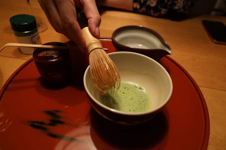 本格的なお抹茶!Japanese Matcha!