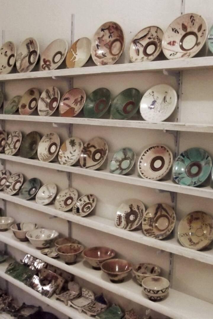 Réalisations de l'école de de poterie