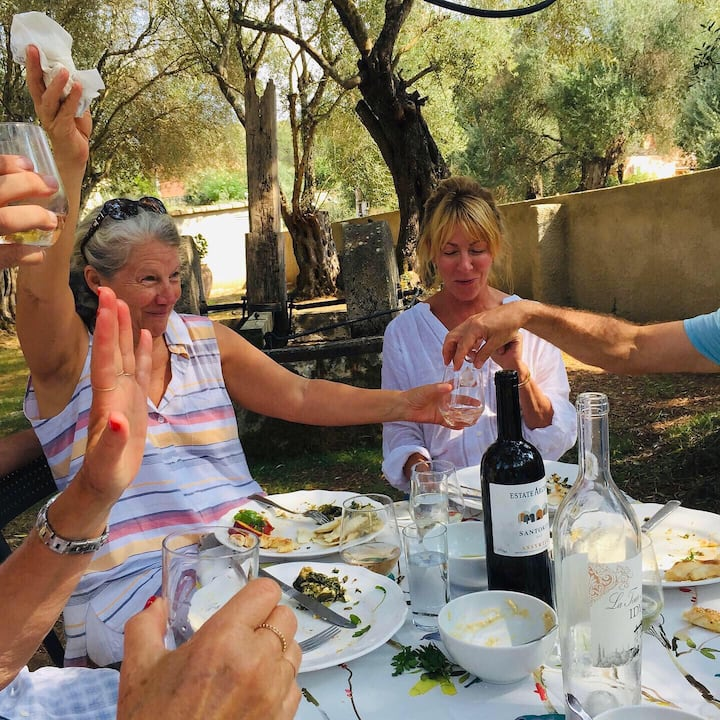 We celebrate with delicious Greek food