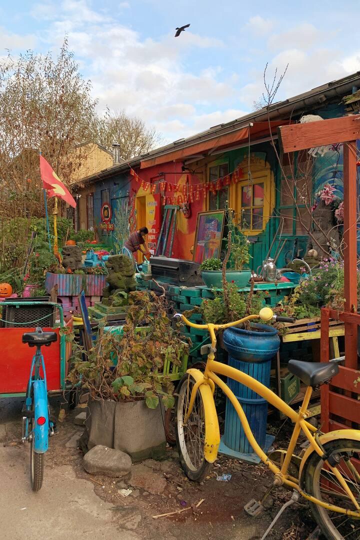 Christiania - The hippie freetown