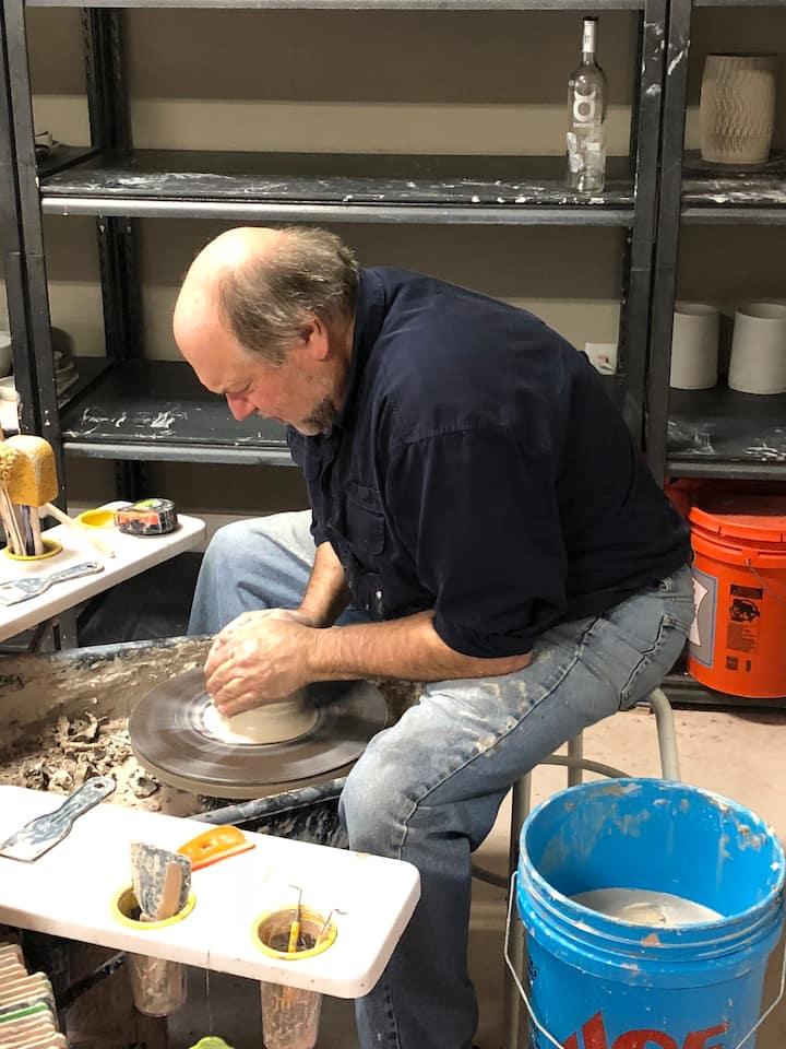Bart Centering clay