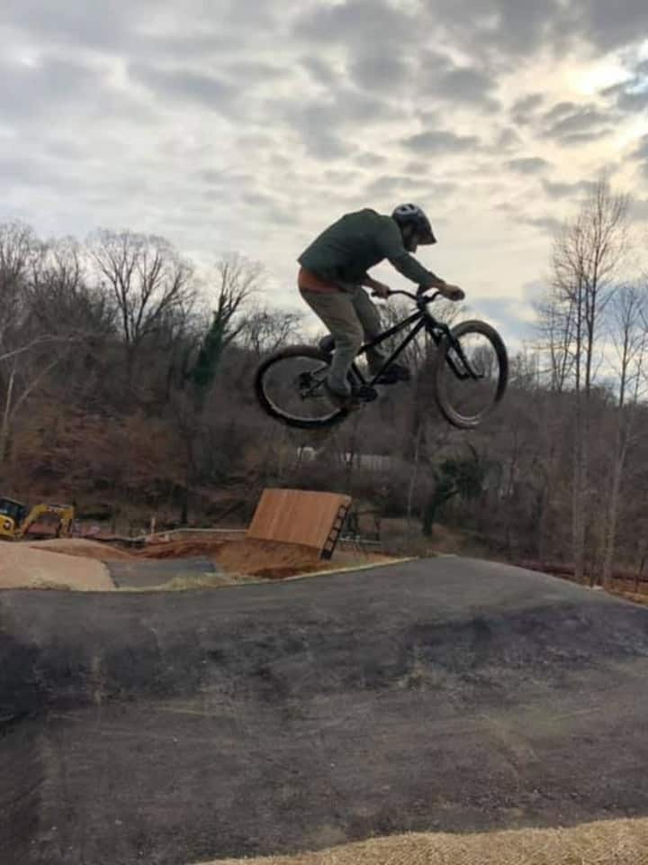 We have trail for everyone. Beginner/Pro