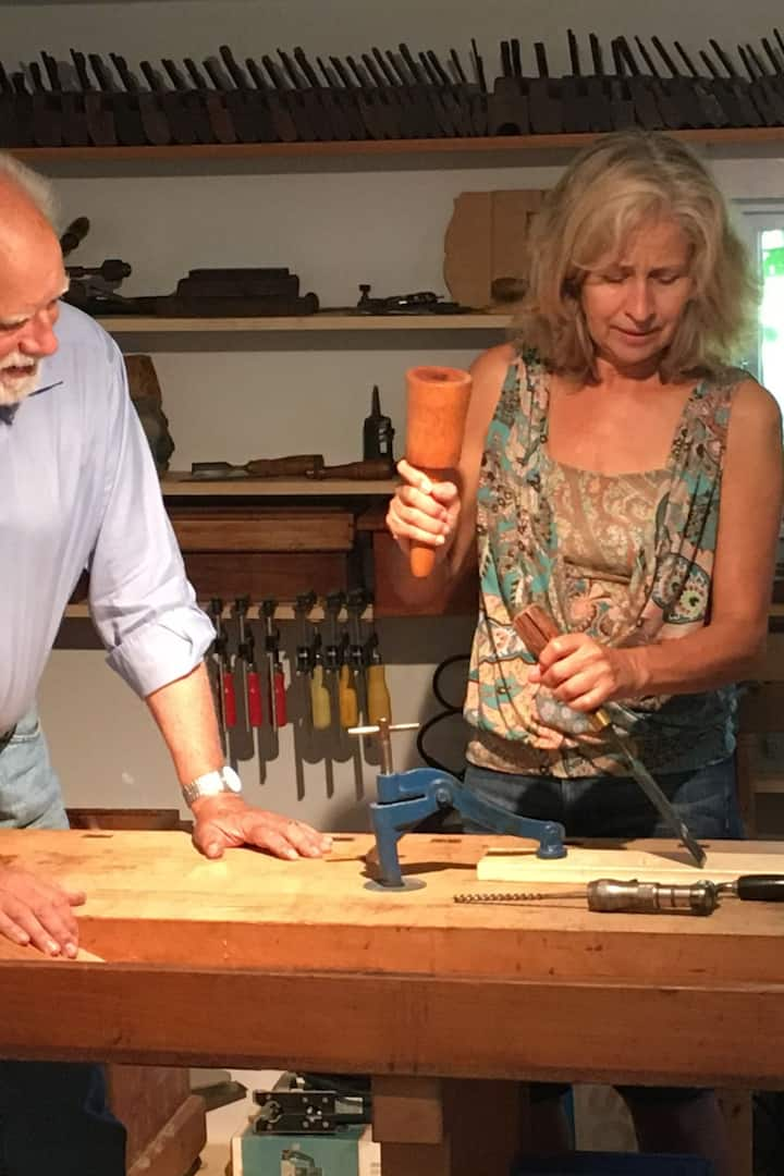 Prelude to a mortise