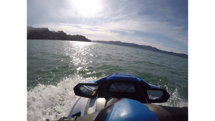Sunset over the Manukau Heads