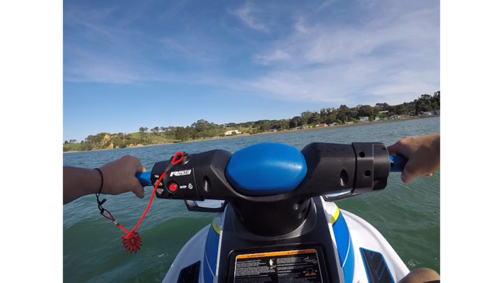 Heading across to Clarks Beach