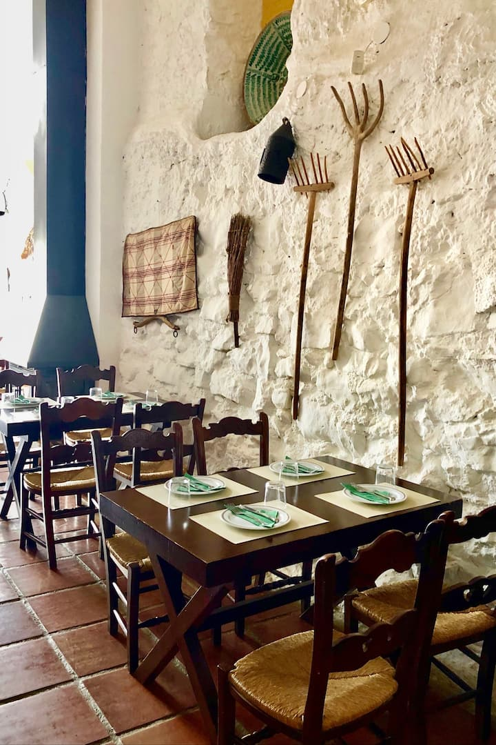 Lunch in oldest Restaurant in Andalucia