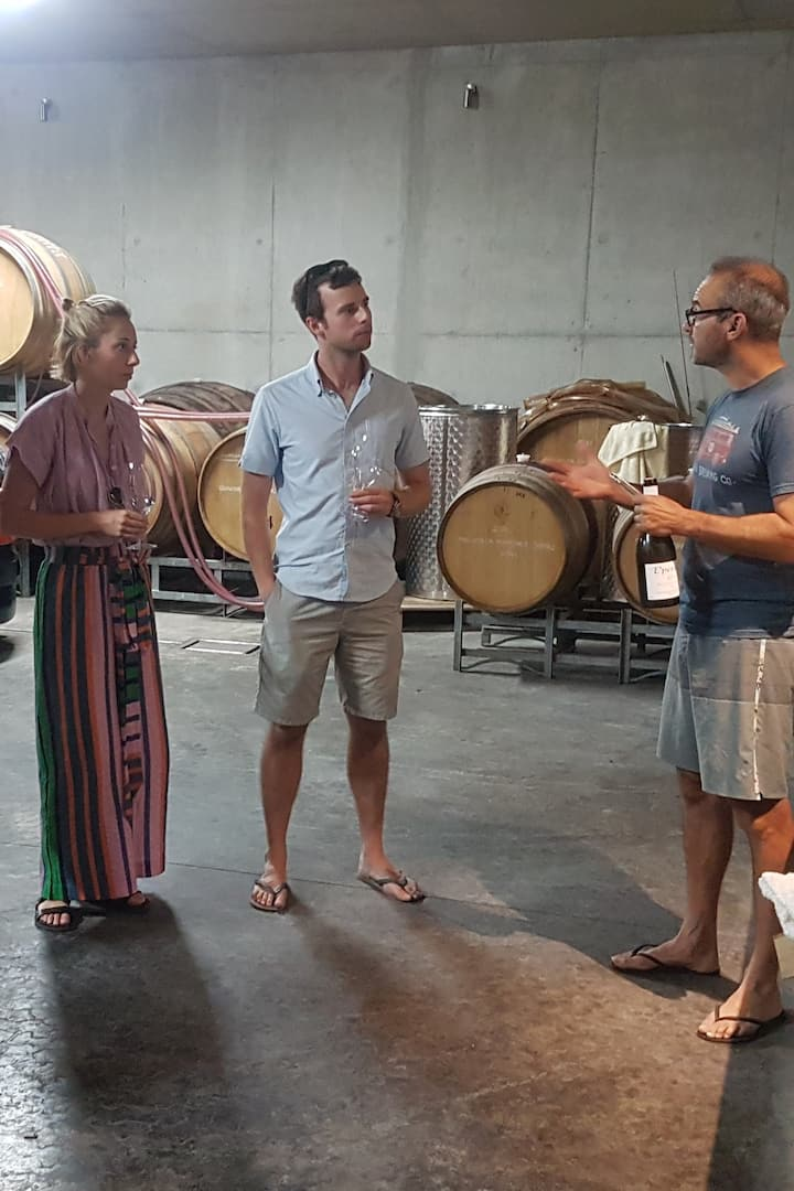 We learnt from the winemaker himself