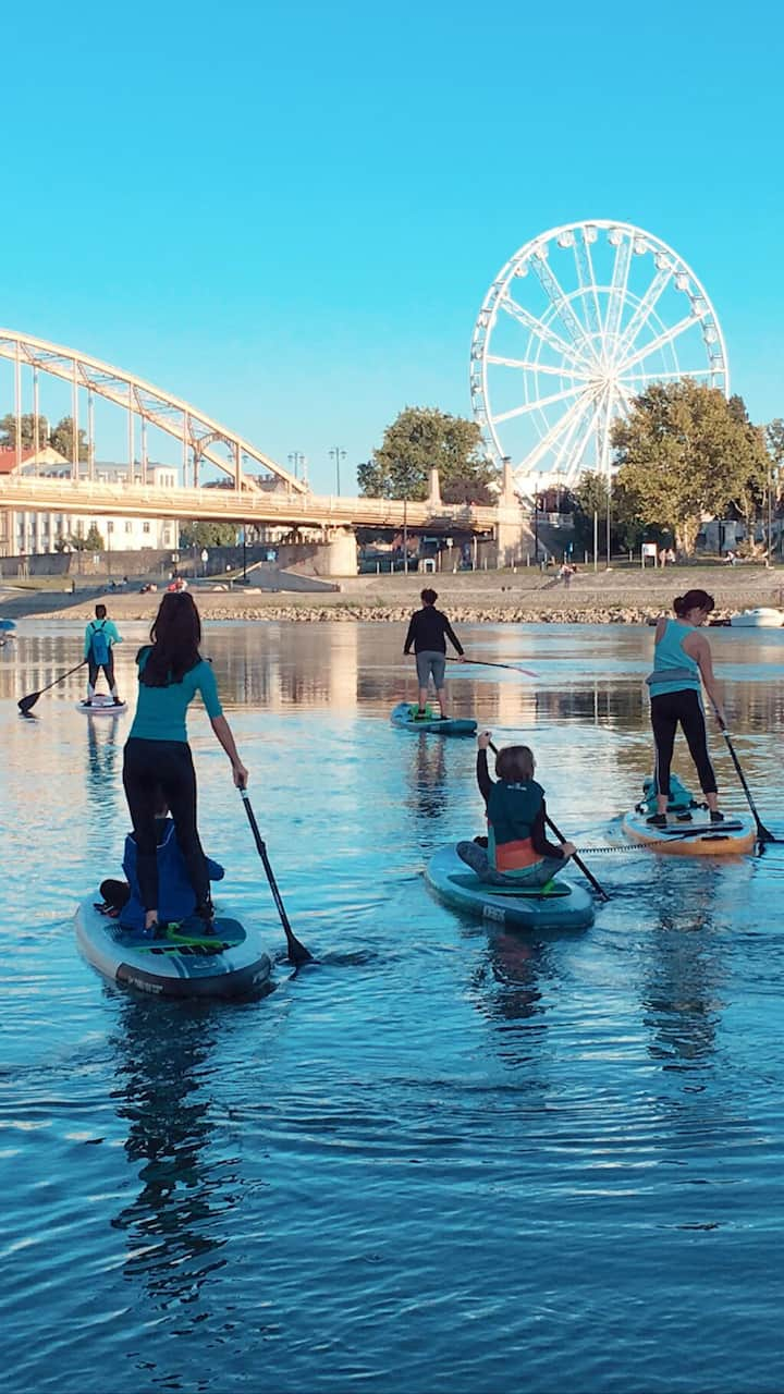 Downtown SUP tour