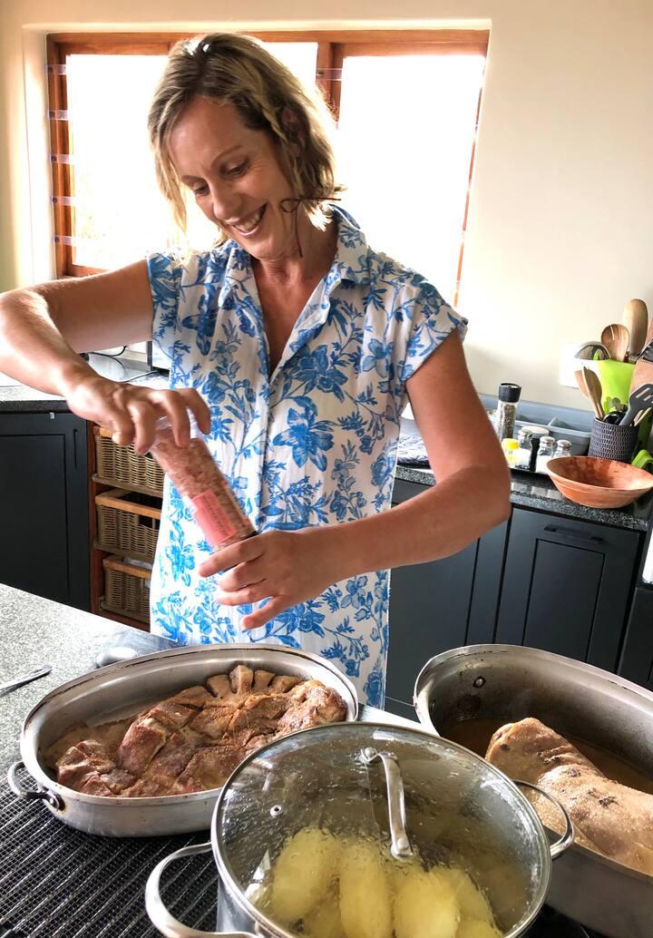Preparing  Lamb Ribs