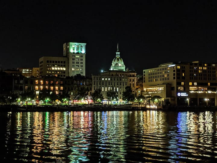 Beautiful downtown Savannah