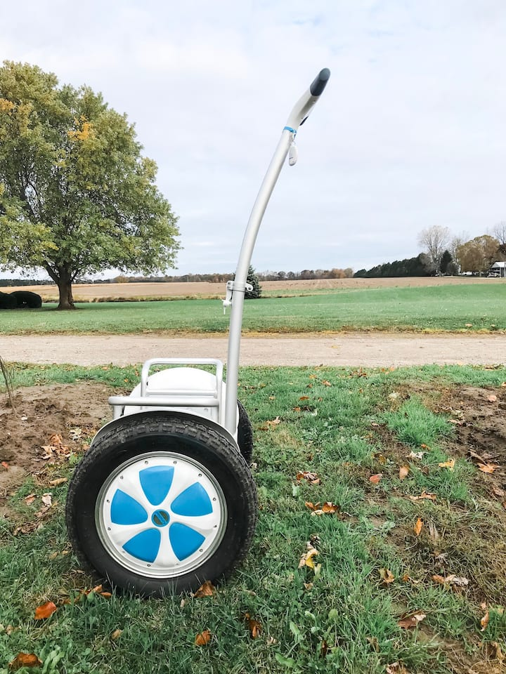 Ride on a top of the line S5 Airwheel!