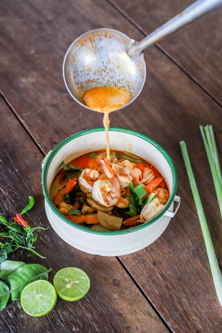 Authentic Tom Yum Kung, yummy!