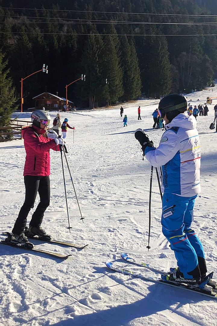 Ski lessons experience in Poiana Brasov.