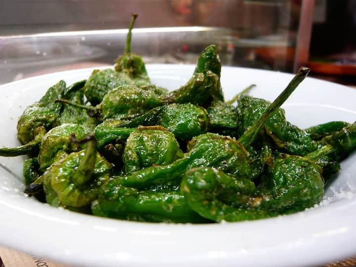 Padron region peppers