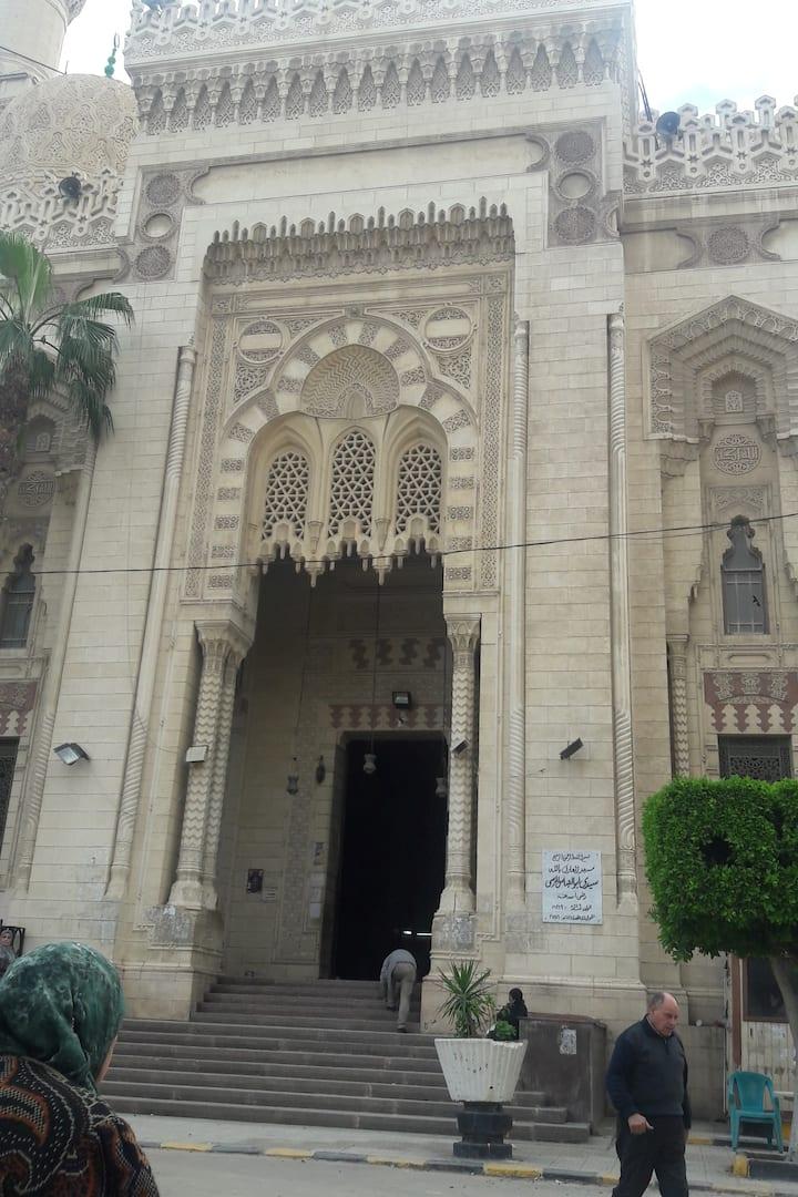 the biggest mosque in Alexandria