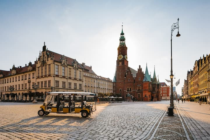 The Old City Hall of Wroclaw