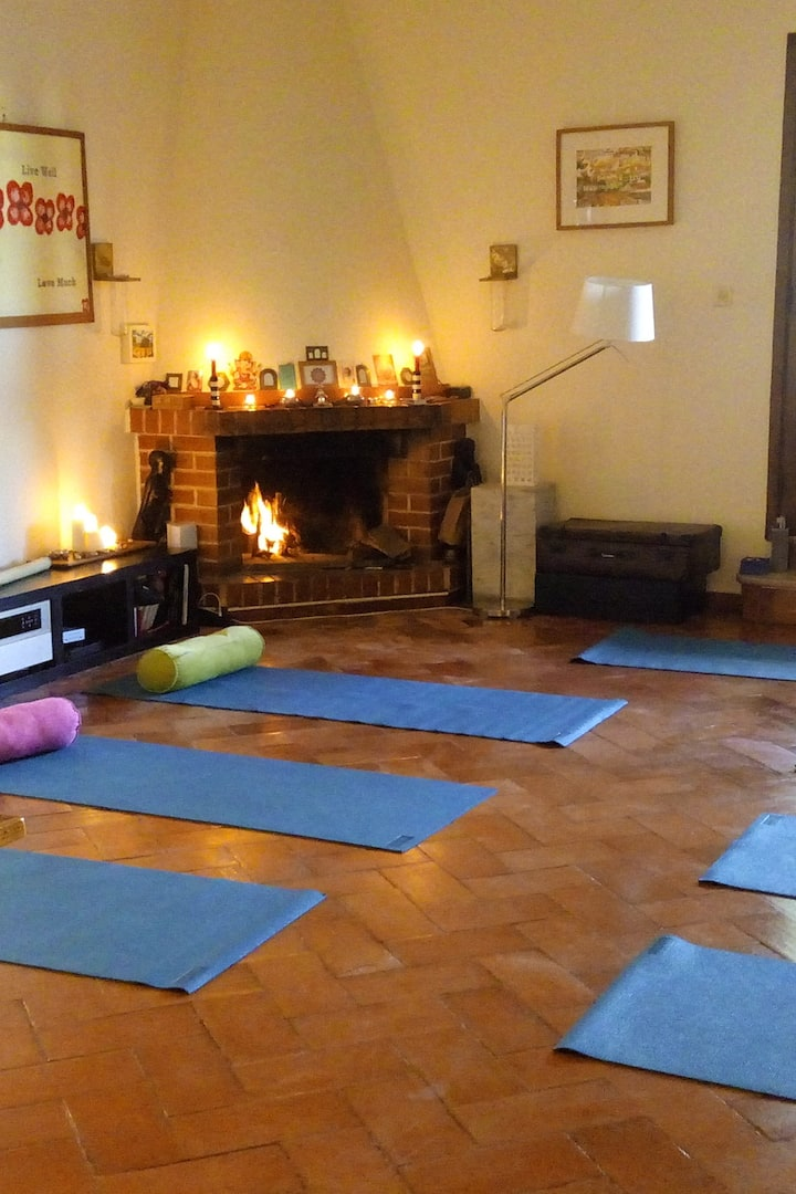 Indoors Yoga if weather requires