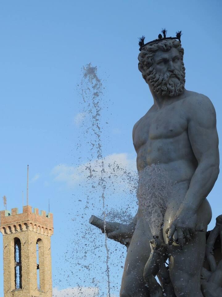 Fontana Nettuno - P.zza della Signoria