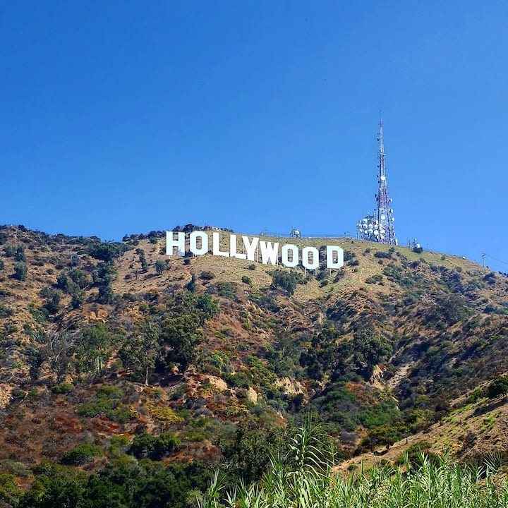 Get up close to the Hollywood Sign!