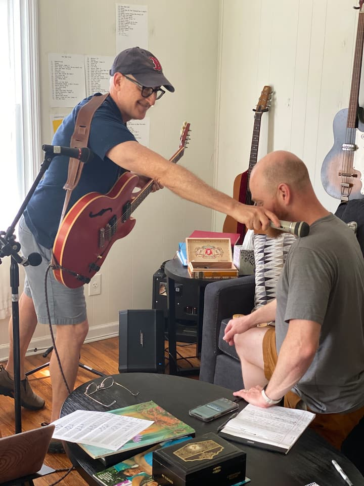 Knighting guest a Nashville Songwriter