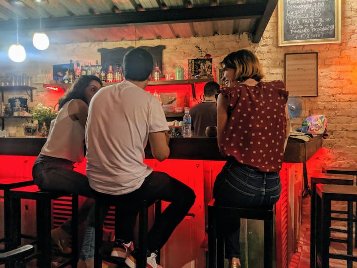Great atmosphere at Melodrama bar
