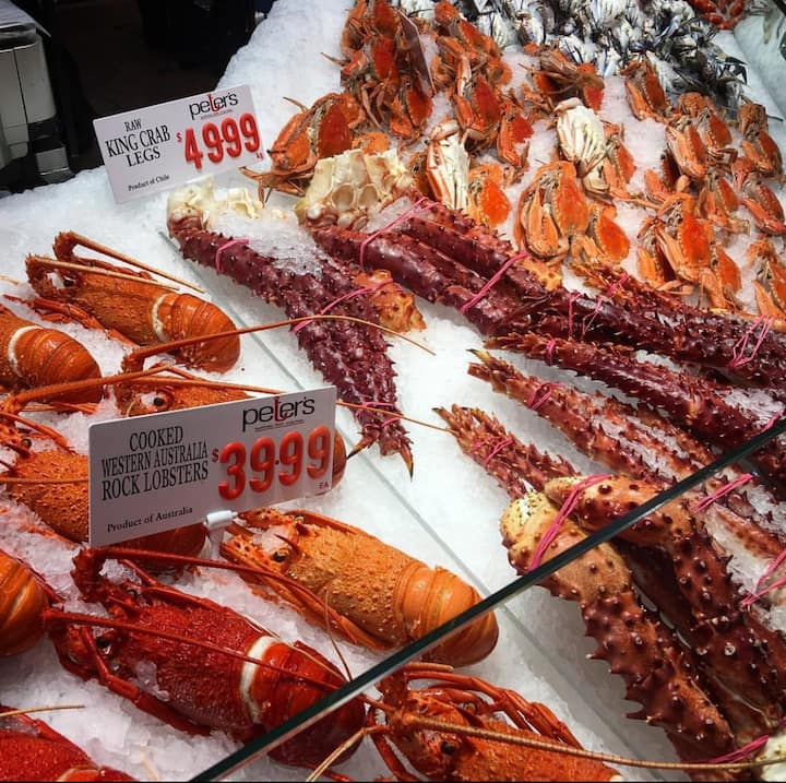 Australia has some of the best seafood.