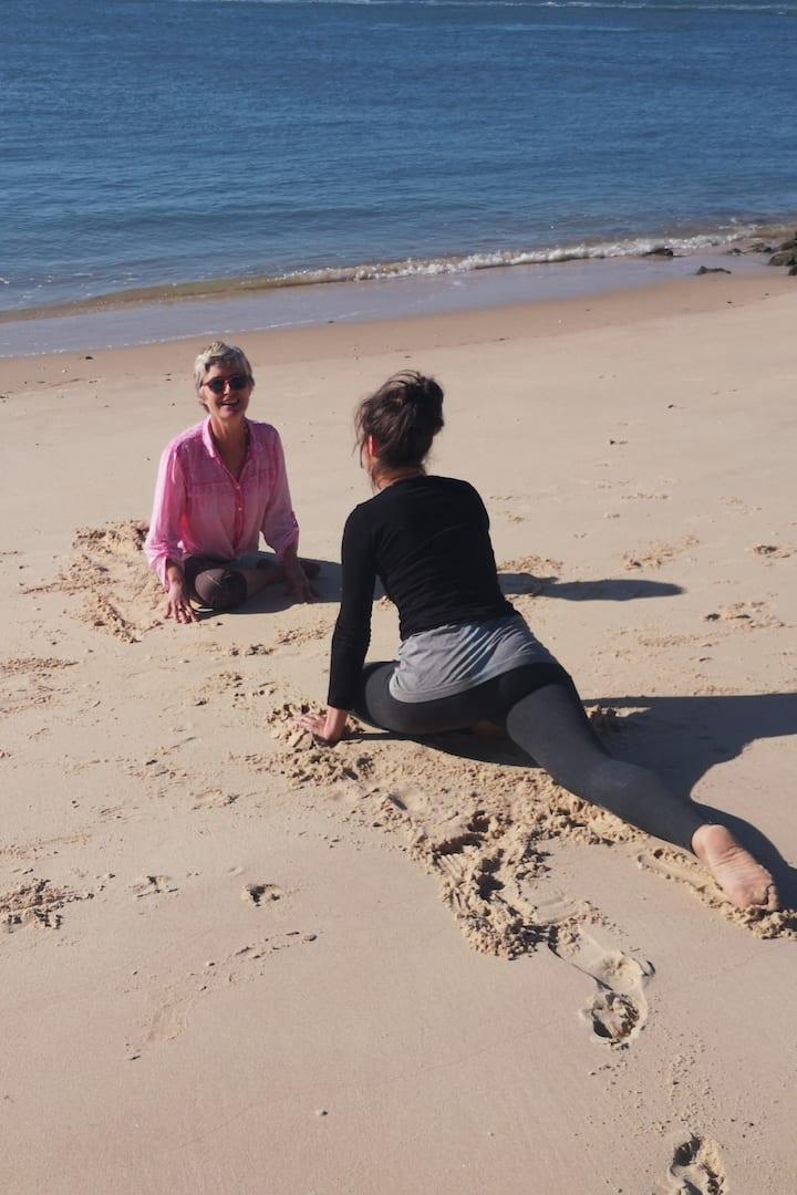 yoga au paradis