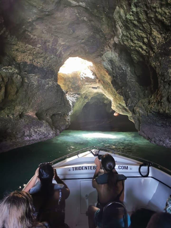 Benagil caves Algarve Grutas