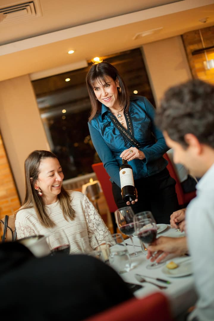 Ana Crsitina Cano la magia del vino