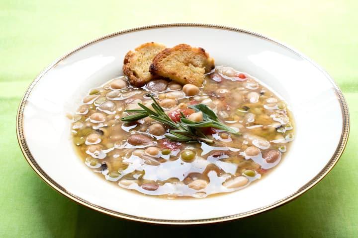 Traditional Tuscan soup
