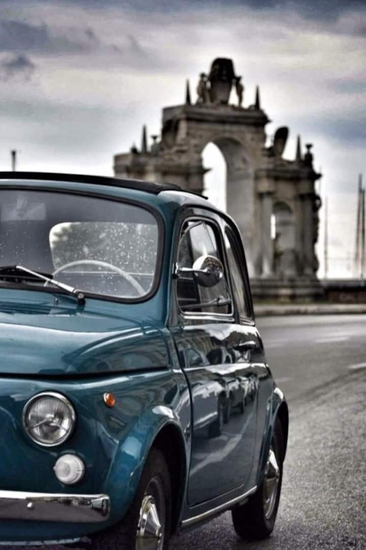 The original Fiat 500 Tour of Naples